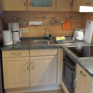 Fewo Schollbach - vollständig ausgestattete Küche